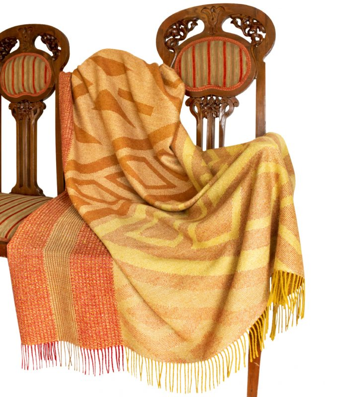 Home Accessory Monte Baby Alpaca Throw by Pacalpa