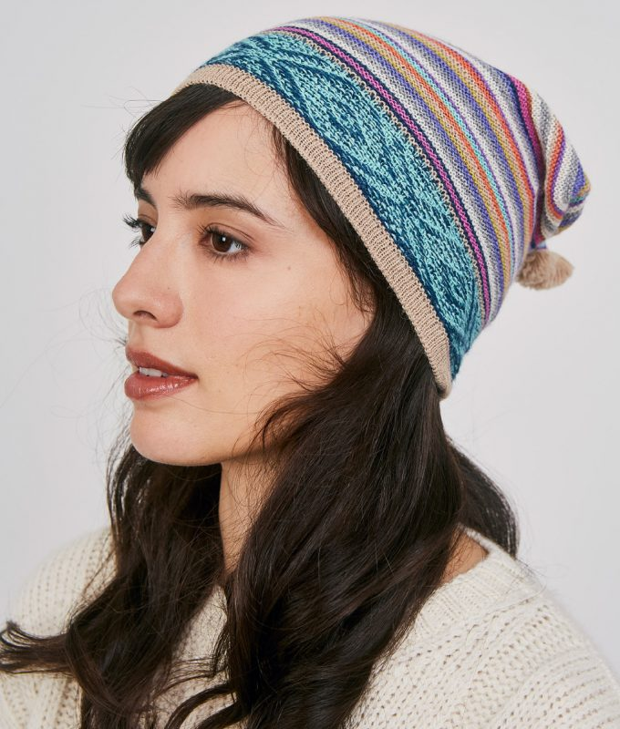 Colores Baby Alpaca Beanie Hat